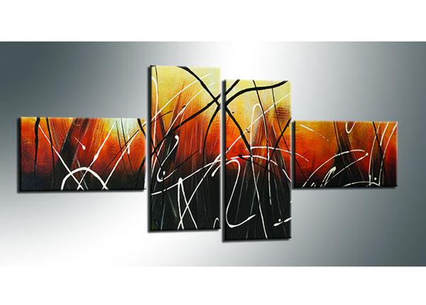 Картина из 4-частей Abstrakt 70x160 cm