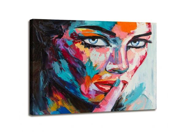 Настенная картина Woman face 60x80 cm