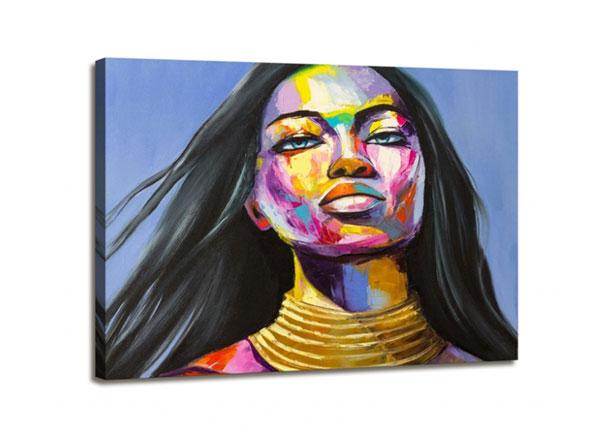 Настенная картина Woman face 1, 60x80 cm