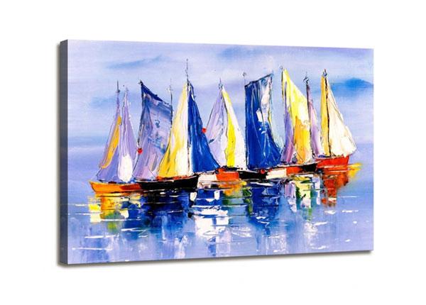 Настенная картина Sailing ships 60x80 cm