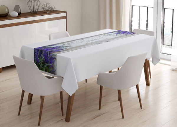 Скатерть Lavender on the wood 40x160 cm ED-130623