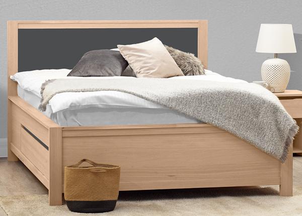 Кровать с ящиками Herrin 160x200 cm MA-130887