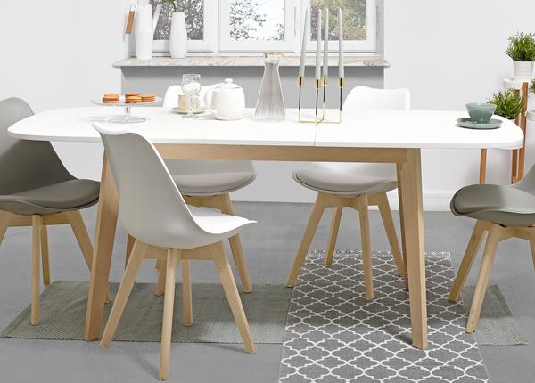 Удлиняющийся обеденный стол Naiss 160x90 cm MA-130908
