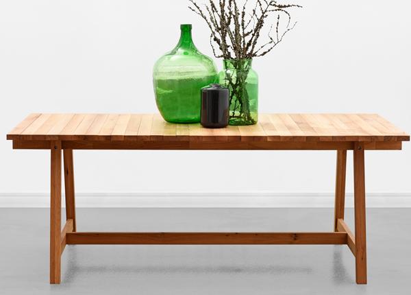 Обеденный стол Wooden Beams 198x100 cm MA-130909