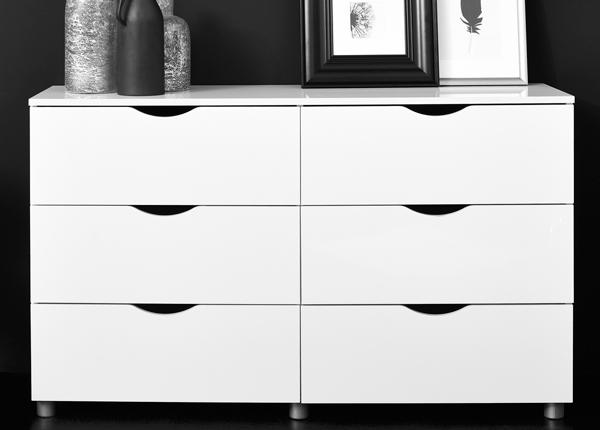 Комод Letty white MA-130916