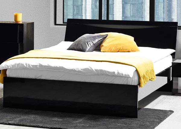 Кровать Letty black 160x200 cm MA-130918