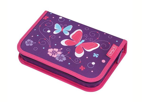 Заполненный пенал Herlitz Purple Butterfly BB-130924