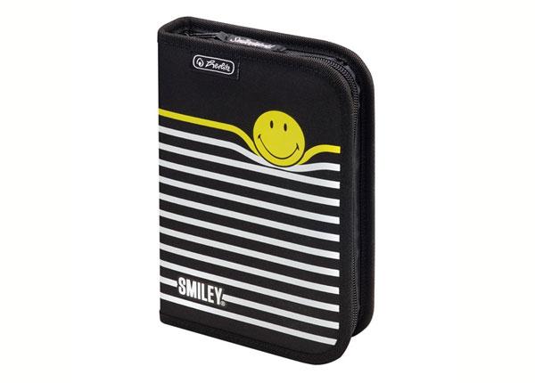 Заполненный пенал Herlitz Smileyworld Black Stripes BB-130931