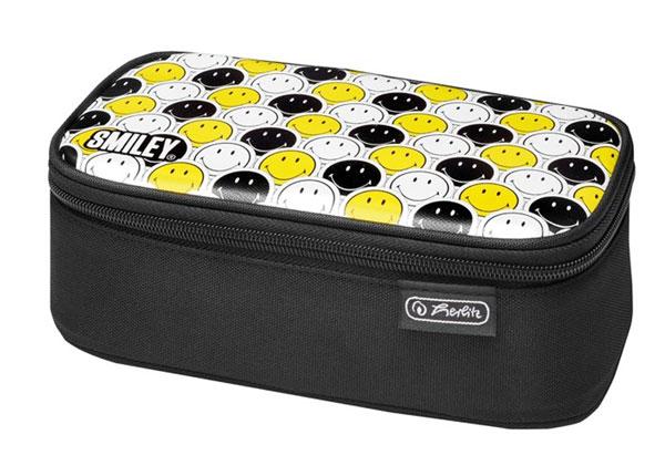 Пенал Herlitz Be Bag Beat Box - Smileyworld Black Stripes BB-130960