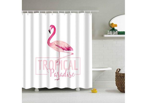 Штора для ванной Flamingo Paradise 150x180 cm AÄ-131705