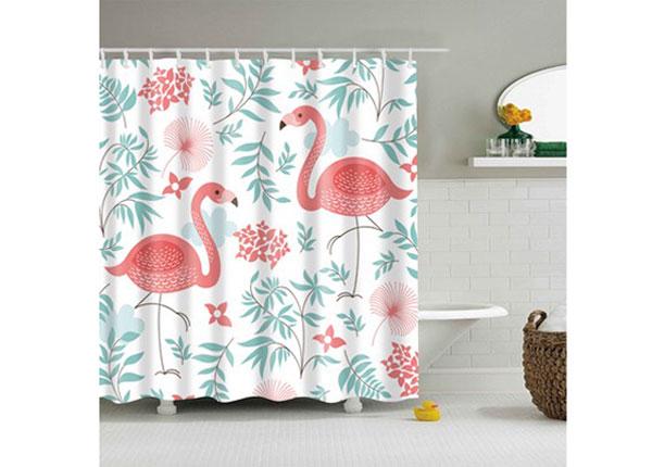 Штора для ванной Flamingo Flowers 150x180 cm AÄ-131706