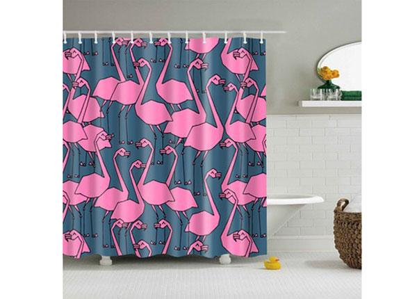 Штора для ванной Flamingo Grey 150x180 cm AÄ-131707