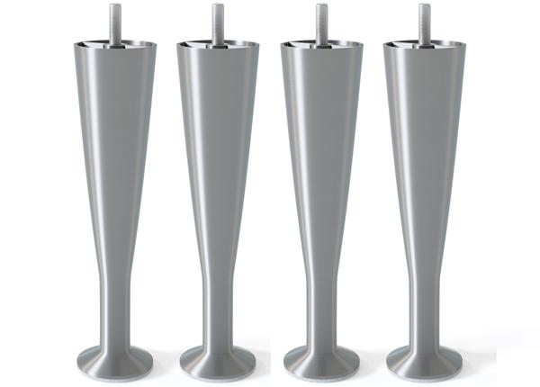 Металлические ножки, матовое серебро 18 cm SW-132622