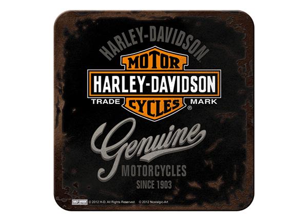 Подставка под стакан в ретро-стиле Harley-Davidson Genuine 4 tk SG-132728