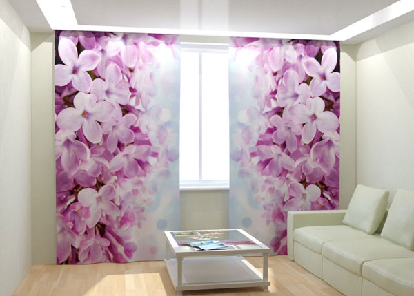 """Фотошторы """"Lilac"""" 300x260 см AÄ-133013"""