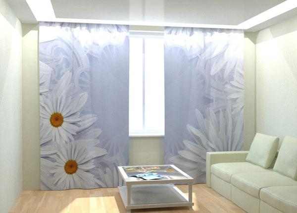 "Фотошторы ""White Daisies"" 300x260 см AÄ-133025"