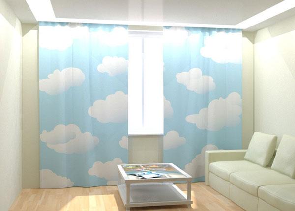 """Фотошторы """"White Clouds"""" 300x260 см AÄ-133026"""