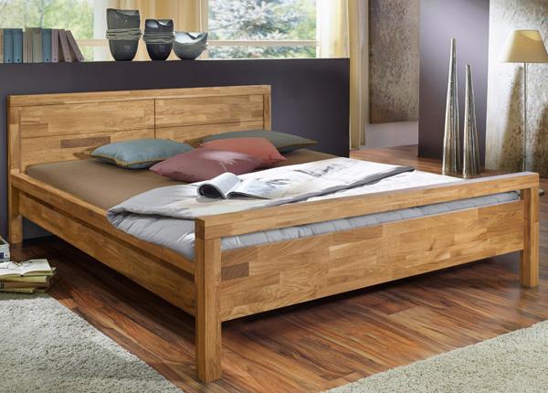 Кровать из массива дуба Next 160x200 cm EC-133691