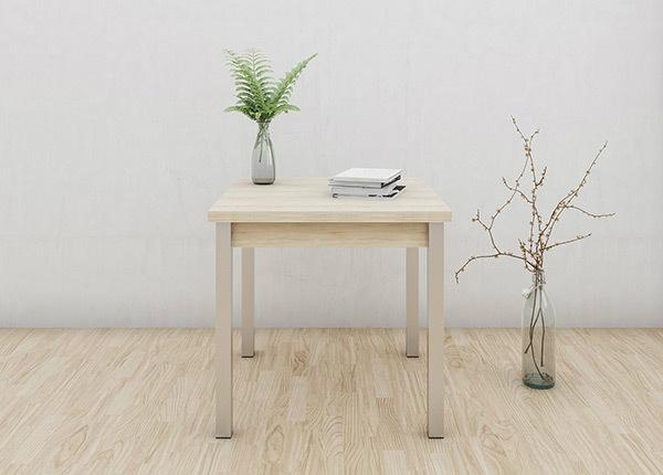 Удлиняющийся обеденный стол 80x80-147 cm AY-133732