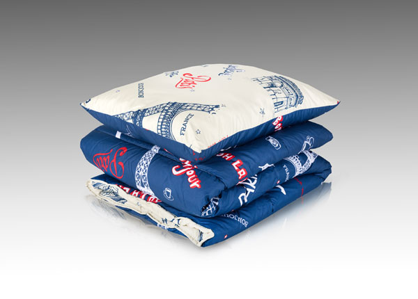 Комплект подушки и одеяла Paris ND-133737
