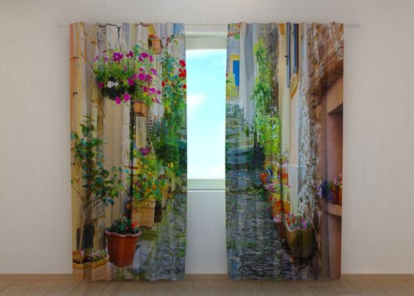 Затемняющая штора IBack Street in Flowers 240x220 см ED-133750