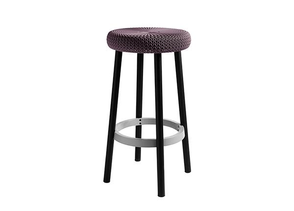 Барный стул Keter Cozie, темно-фиолетовый TE-133775