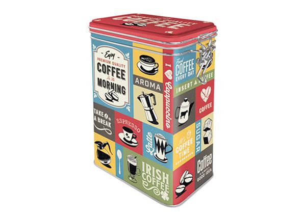 Жестяная коробка Coffee Collage 1,3 L SG-133821