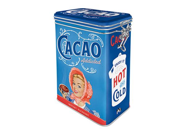 Жестяная коробка Cacao Addicted 1,3 L SG-133824