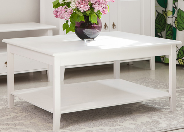 Журнальный стол из массива сосны 95x75 cm EC-134048