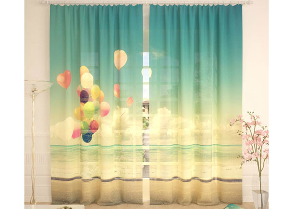 Тюлевые занавески Balloons 290x260 cm AÄ-134079