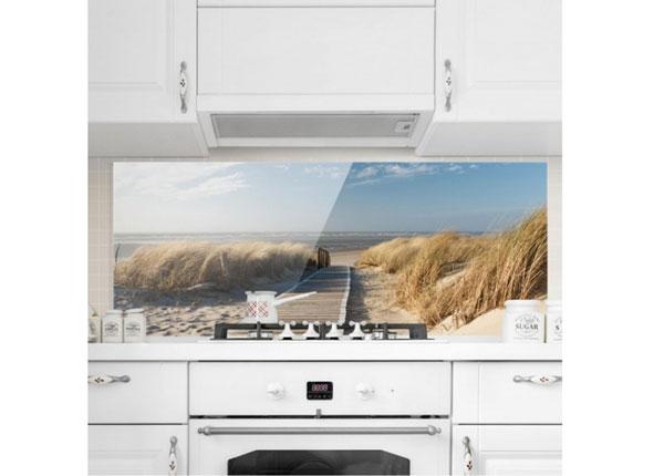 Фотостекло для кухонного фартука Baltic Sea Beach, 50x125 см ED-134439