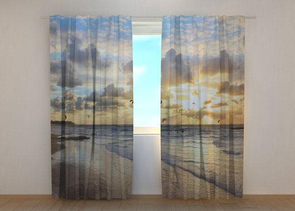 Полузатемняющая штора Faraway Ocean 1 ED-134645