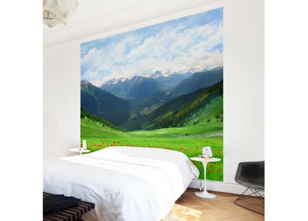 Флизелиновые фотообои Alpine meadow