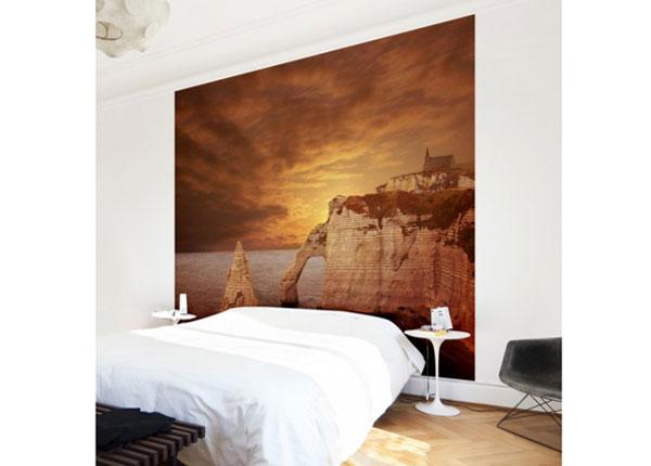 Флизелиновые фотообои Etretat Sunset Cliffs