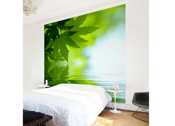 Флизелиновые фотообои Green Ambiance III