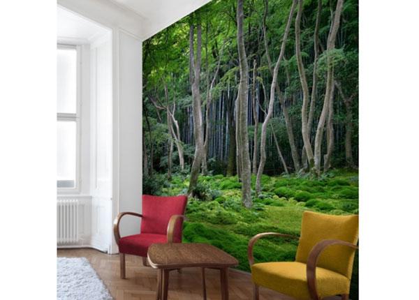 Флизелиновые фотообои Japanese Forest