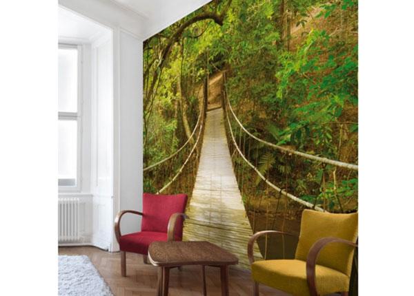 Флизелиновые фотообои Jungle bridge