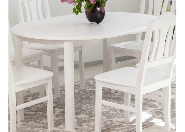 Удлиняющийся обеденный стол Ada2 100x100-178 cm EC-135326