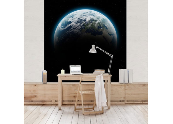 Флизелиновые фотообои Illuminated Planet Earth