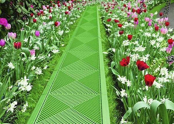 Декоративная решетка в сад 2 шт