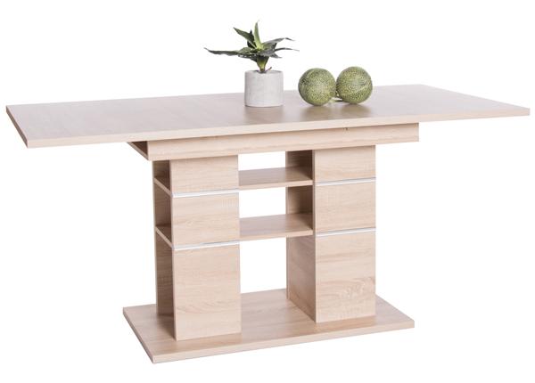 Удлиняющийся обеденный стол 120-160x80 cm CM-136630