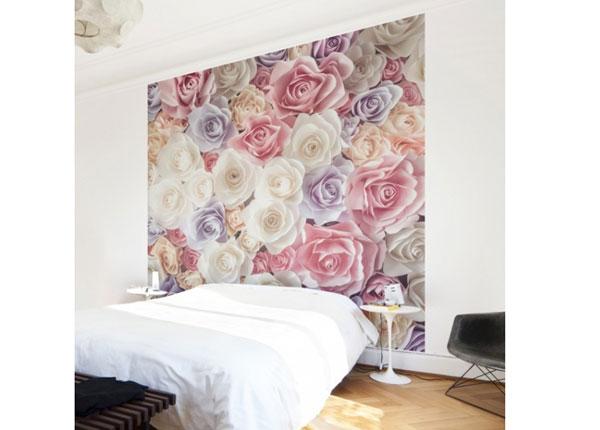Флизелиновые фотообои Pastel Paper Art roses