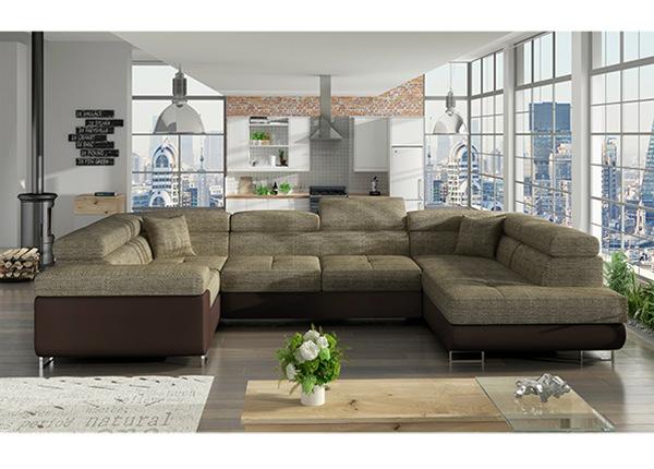 Угловой диван-кровать с ящиком TF-136799
