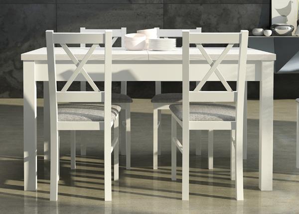 Удлиняющийся обеденный стол 140-180x80 cm CM-137186