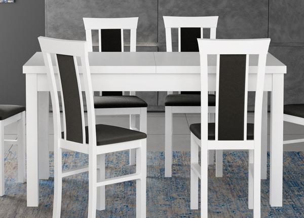 Удлиняющийся обеденный стол 160-200x90 cm CM-137191