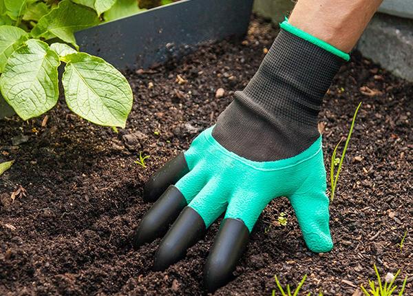 Перчатка для работы в саду 5 шт PO-137313