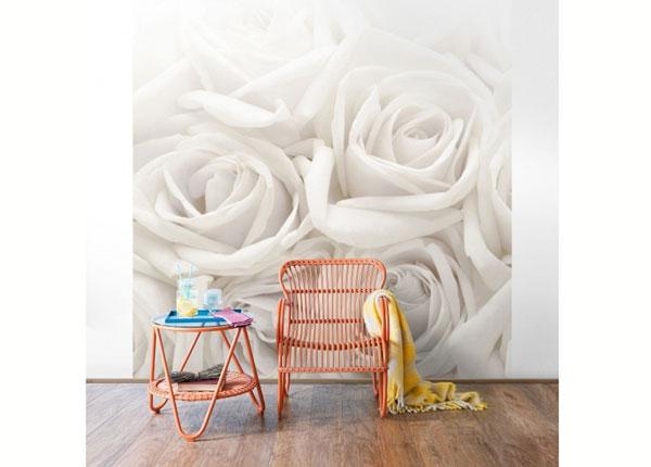 Флизелиновые фотообои White Roses