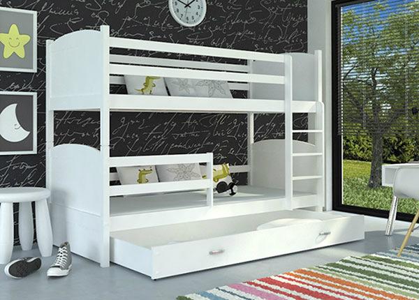 Двухъярусная кровать 80x184 cm + матрасы TF-137655