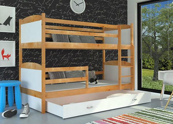 Двухъярусная кровать 80x184 cm + матрасы TF-137657