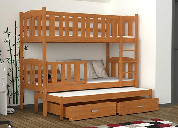 3-местная двухъярусная кровать 80x184 cm + матрасы TF-137712
